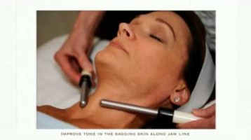 Demonstration of the Jade-E Facial Beauty Treatment